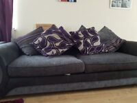 2 4 seater dfs sofas for sale from a pet and smoke free home