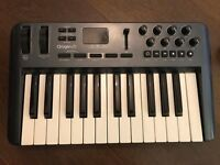 MIDI keyboard- M-audio oxygen 25