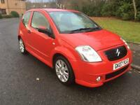 2007 Citroen c2 vts 16v mot upto march 2017 74000 miles drives really well priced to sell