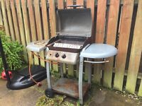 Gas BBQ and canister