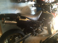 Husqvarna 610TE Black Monster Energy road legal