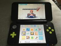Nintendo 2ds xl with 250+ games and mario kart 7