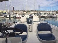 Boat. Orkney 520 with 30 hp Yamaha Four Stroke. Good condition. Engine and Boat 2001