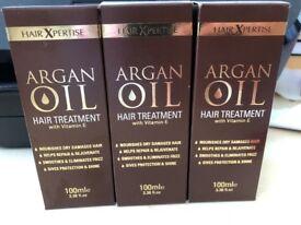 Hair Xpertise argan oil hair treatment