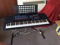 Yamaha PORTATONE PSR 180 Portable Music Keyboard 61 Keys