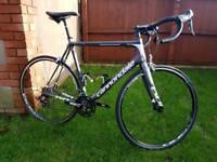 Cannondale Evo carbon road bike 58