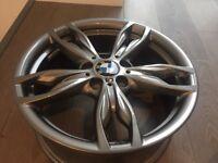 """BMW 436M F21 1 series Alloy wheels 18"""" new orbit grey M135i M140i M235i M240i"""