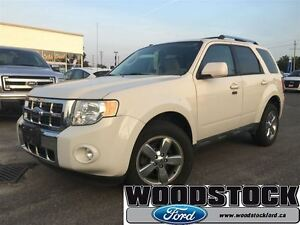2009 Ford Escape Limited, LEATHER, ROOF