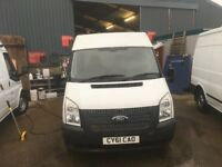 ford transit mwb fridge van.2011.good working order.NO VAT.one previous owner.ready for work