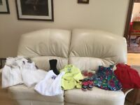 Bundle of new and nearly new girls clothing between 6 - 18 months
