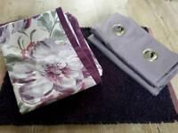 Purple bedding bundle