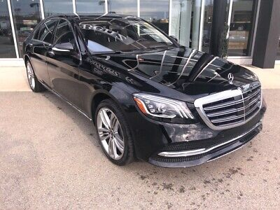 2020 Mercedes-Benz S-Class S 560 Black Mercedes-Benz S-Class with 8 Miles available now!