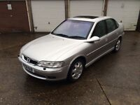 2001 VAUXHALL VECTRA, 1.8, FULL LEATHER, SUNROOF, ALLOYS, STUNNING, MONDEO, LAGUNA, ASTRA, FOCUS