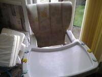BABYS FOLDING HIGH CHAIR