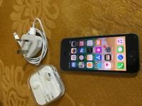 Apple iPhone 5s black 16gb Vodaphone and Lebara network