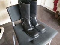 Cruiser style engineer boots size 42/8