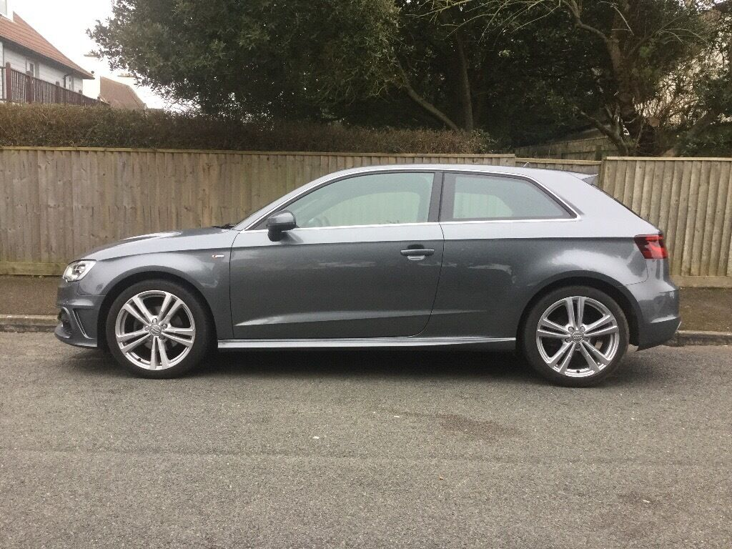 audi a3 2 0 s line tdi audi warranty aa recovery until april 2018 in barton on sea hampshire. Black Bedroom Furniture Sets. Home Design Ideas