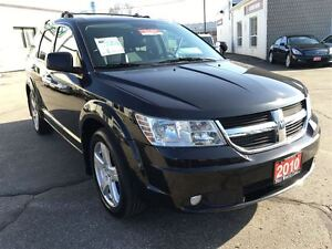 2010 Dodge Journey R/T 3.5L V6 AWD | LEATHER | BLUETOOTH | Kitchener / Waterloo Kitchener Area image 8