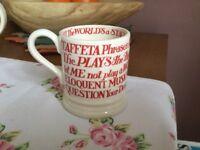 Emma Bridgewater Shakespeare Quotes Mug
