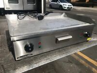 NEW ELECTRIC FLAT GRILL CATERING COMMERCIAL KITCHEN RESTAURANT TAKE AWAY CAFE KEBAB FAST FOOD SHOP