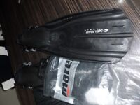 mares fins (flippers)