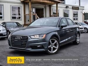 2015 Audi A3 1.8T Komfort LEATHER ROOF HEATED SEATS