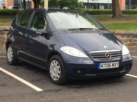 2006 MERCEDES A150 * 5 DOOR * 1.5 PETROL * LOW MILEAGE * SERVICE HISTORY * LONG MOT * PX * DELIVERY