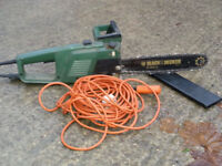 Black & Decker Chainsaw