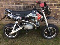 125cc on road pit bike