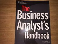 The business analyst's handbook, by Howard Podeswa