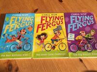 Flying Fergus (by Sir Chris Hoy) Books 1-3