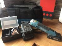 Erbauer 18v Multi Tool with 2x2.0h Li-ion Batteries