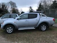 Mitsubishi Warrior L200 with Sports Bar Canopy & New Engine fitted PART Ex welcome