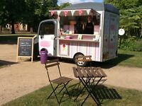 Independant Mobile Coffee and Cake Business For Sale in Nottinghamshire.
