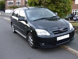Toyota Corolla, Black Colour Collection, Great Runner. Mot until Feb 17. Have all the paperwork.