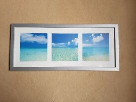 Framed Tropical Beaches Print