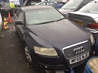 AUDI A6 4F 3.0 TDI BREAKING FOR PARTS