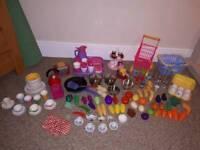 Play Kitchen Utensils, Equipment, Food etc