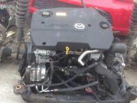 2006-2008 MAZDA 6 2.0 TD 143 BHP RF7J ENGINE 63,000 MILEAGE COVERED ONLY