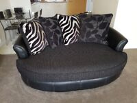 4 Seater Sofa, 2 Seater Cuddle Chair & Foot Stool