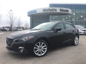 2015 Mazda MAZDA3 GT SUNROOF, HEATED SEATS, BACKUP CAM, 2.5L