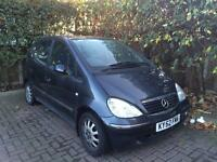 **cheap**Mercedes A160 2002 Elegance Low 44k Mileage Mint Bargain! Not A3 corsa micra Yaris polo