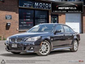 2010 BMW 5 Series 535i xDrive M Pkg *NO ACCIDENTS, NAVI, LOADED*