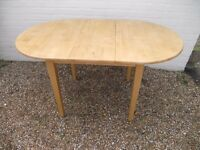 Beech Extendable Dining Table
