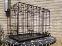 Dog crate - used