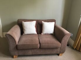 Excellent condition Marks and Spencer's compact sofa set .