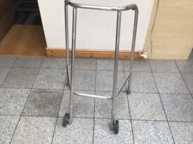 Zimmer frame with 2 wheels at front for easy glide-excellent condition-£15