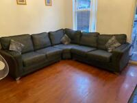 Corner sofa hardly used only for £350