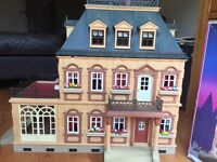 Wow! Look at this for a giveaway! Playmobil 5300 Victorian Mansion dolls house.