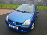 RENAULT CLIO 1.2ltr_5dr (2005) *** MOTED - BARGAIN - FREE DELIVERY ***